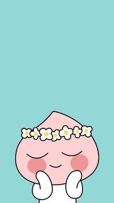 カカオトーク キャラクター壁紙! の画像 ちょっと頑張る건어물녀 日記 in seoul