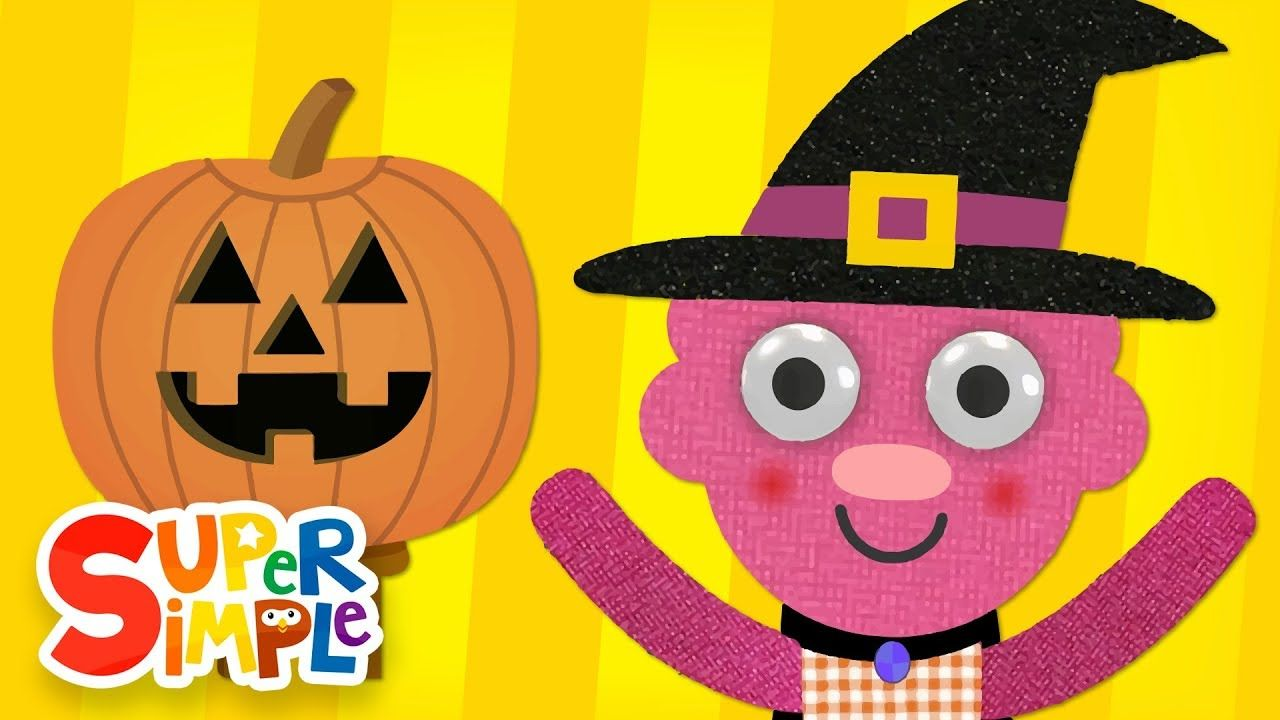 Super Simple Songs Halloween.Can You Make A Happy Face Halloween Song Super Simple Songs