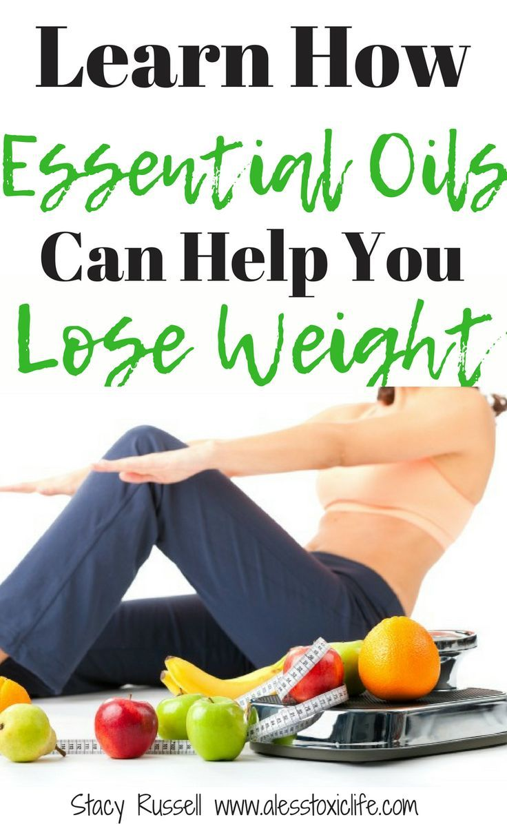 How essential oils help lose weight