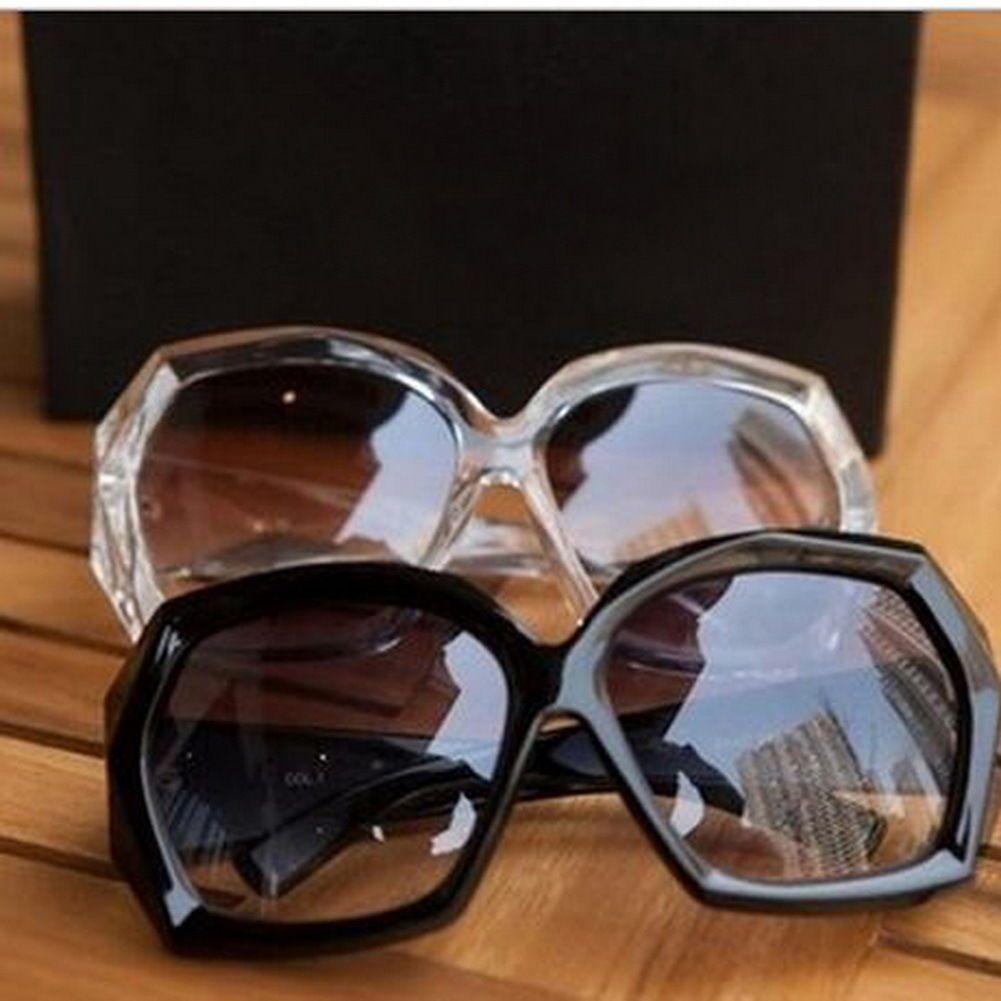 e12b080aa88 6.99AUD - Ladies Crystal Black Frame Sunglasses Shades Oversized Women  Large Big Fashion F  ebay  Fashion