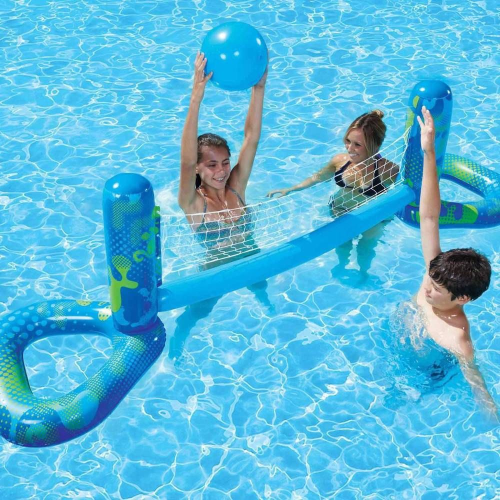 Swimming Pool Toy Volleyball In Ground Pools Side Summer Outdoor Family Games Poolmaster Swimming Pool Toys Pool Games Pool