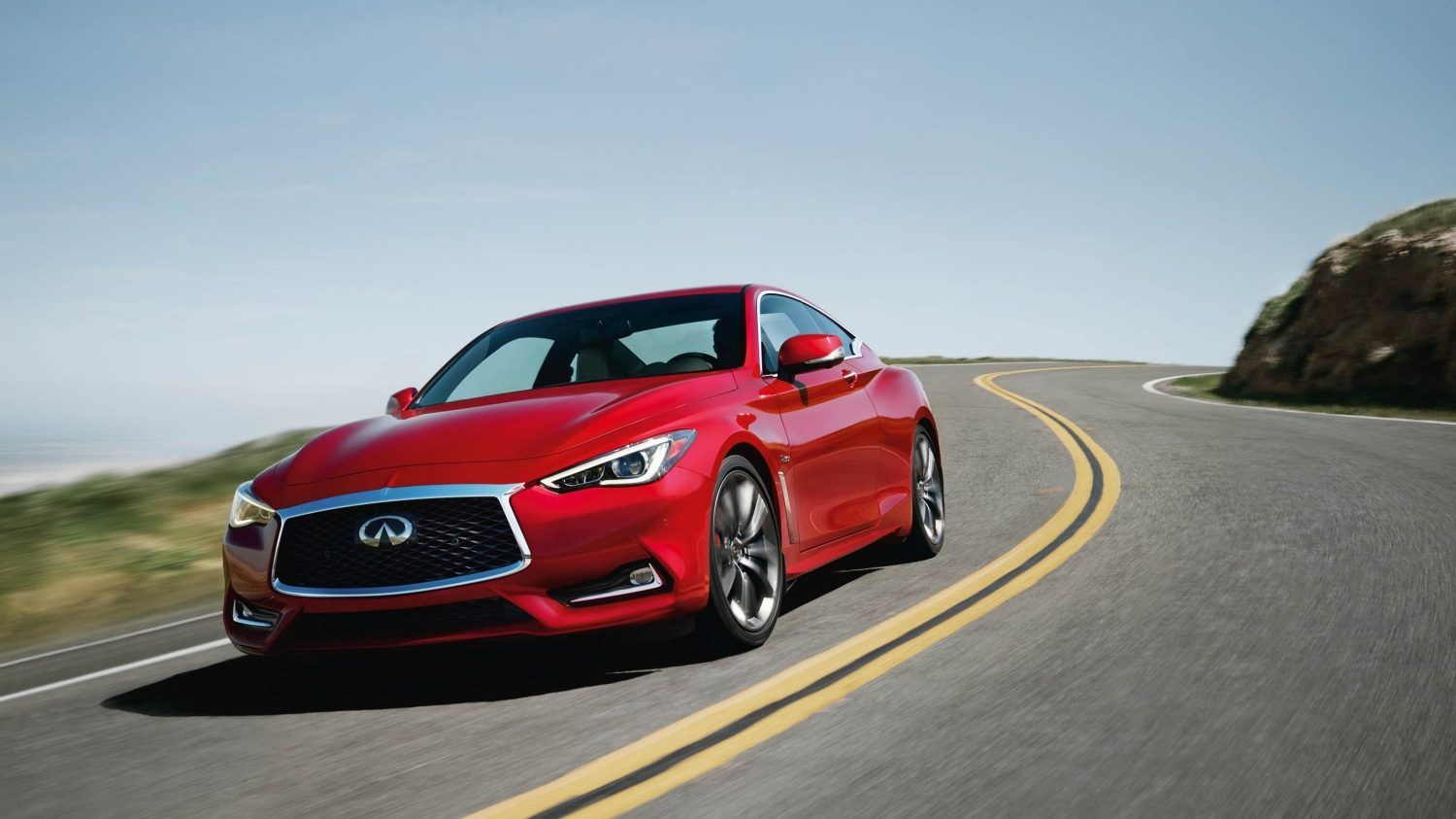2018 Infiniti Q60 Coupe Digital Steering And Suspension Infiniti Infiniti Usa Coupe