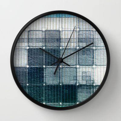 Container In Intimacy Wall Clock by Fernando Vieira