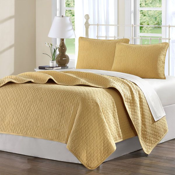 Midas Cool Cotton Twin XL Coverlet Quilt Bedding Set Complete With Sheets |  FREE SHIPPING