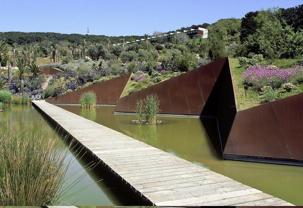 Colaboraci n con carlos ferrater nuevo jard n bot nico for Barcelona jardin botanico
