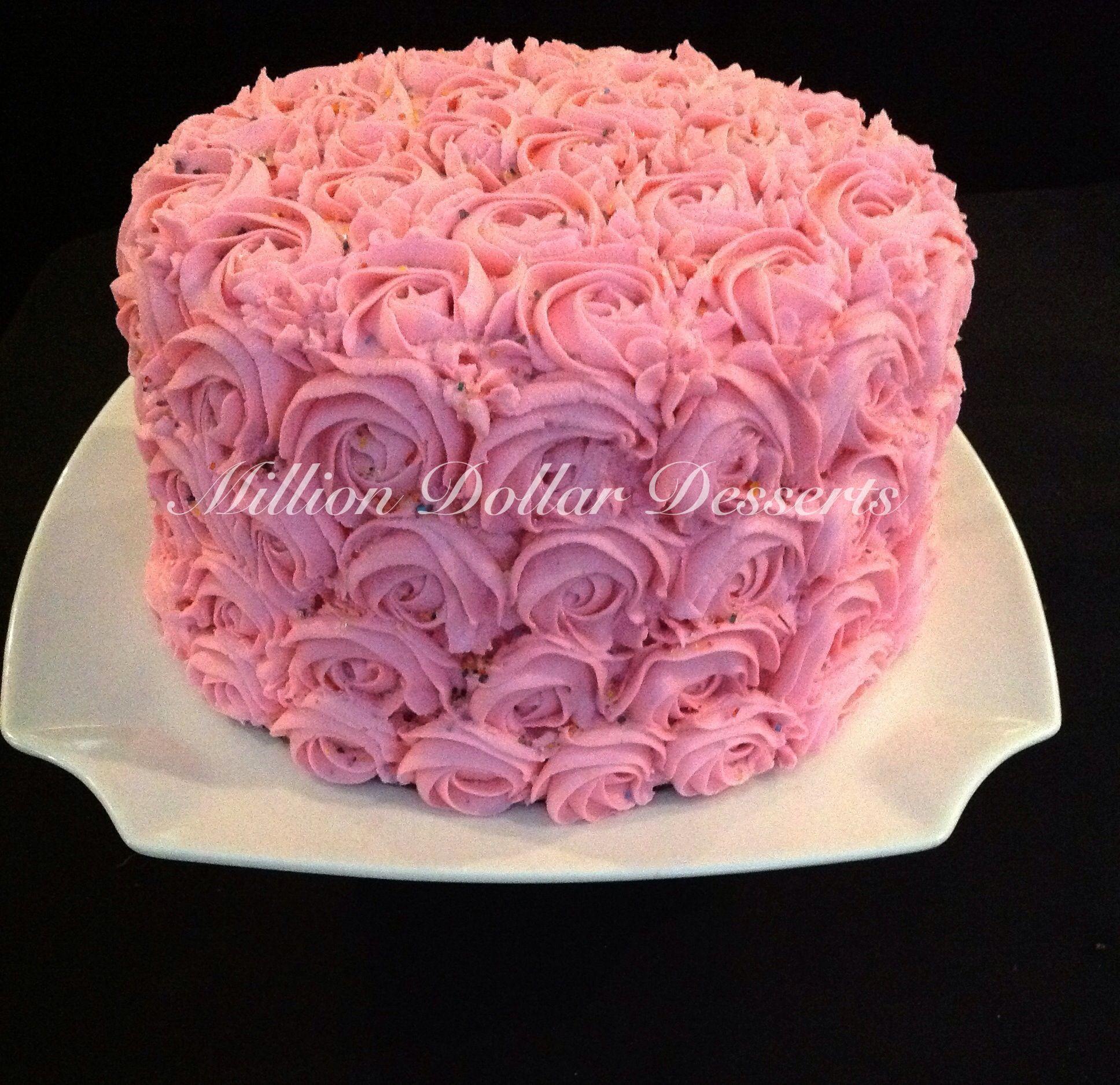 Rosette Cake My absolute favorite!!!!