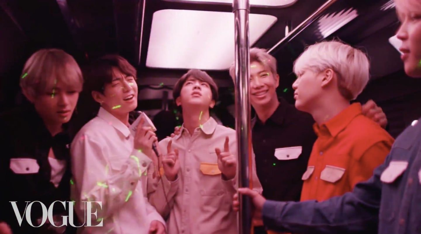 Watch: BTS Tours LA And Rocks Out In Their First Party Bus