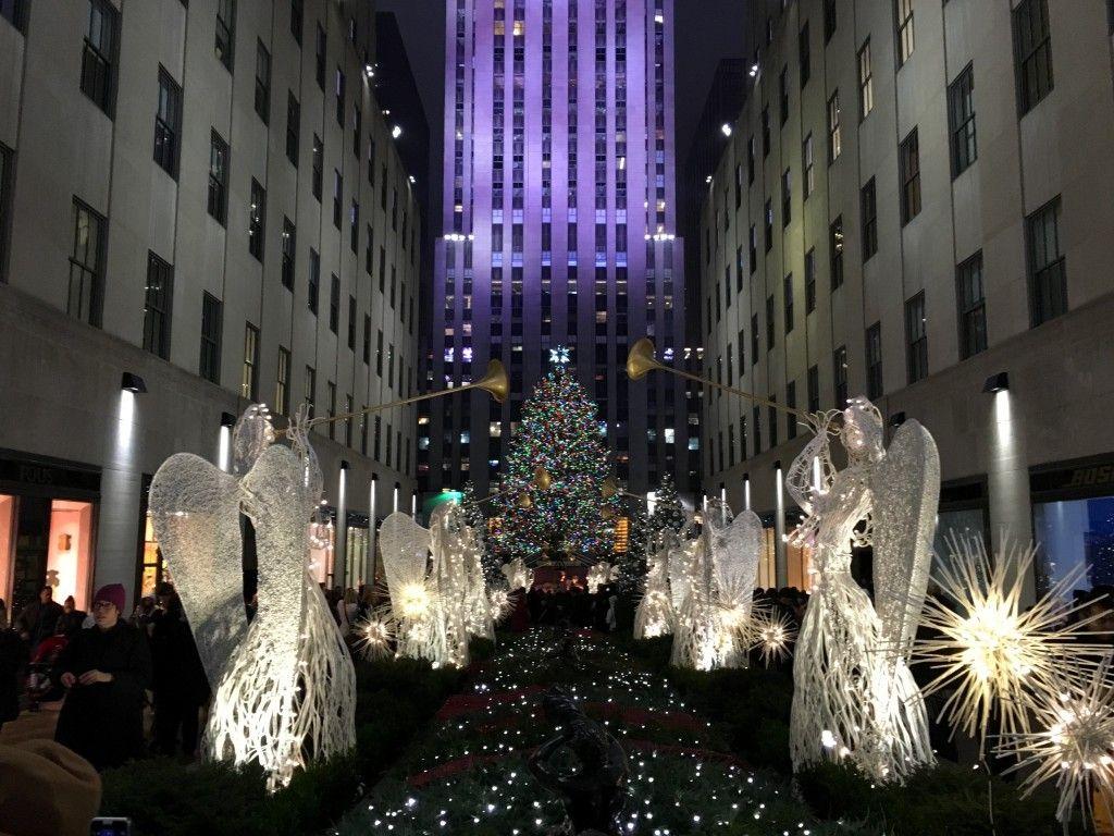 Rockefeller Christmas Tree   Reiseberichte // vintageherz   Pinterest