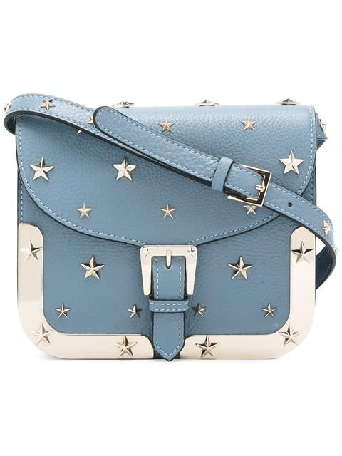 Shop Red Valentino star stud saddle crossbody bag in Eraldo from the  world s best independent boutiques at farfetch.com. Shop 400 boutiques at  one address. 3ccff074964d9