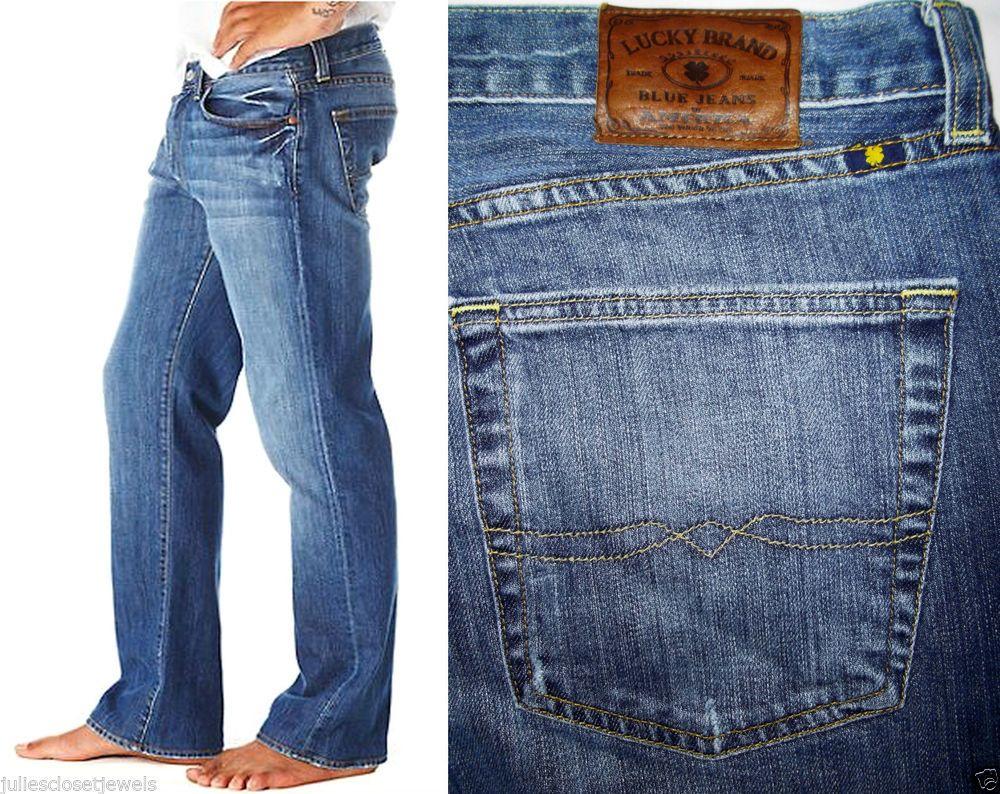 Lucky Brand Jeans 361 Vintage Straight Classic Fit Ol' Nirvana Wash 36 *MINT* #LuckyBrand #ClassicStraightLeg
