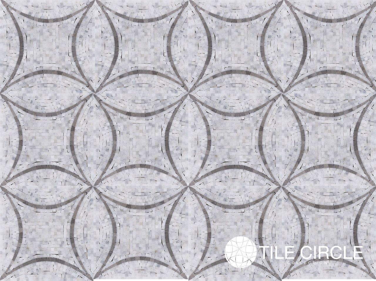 Gorgeous mosaic tile pattern unique grey circles mosaic tile for gorgeous mosaic tile pattern unique grey circles mosaic tile for bathroom floors and walls dailygadgetfo Images