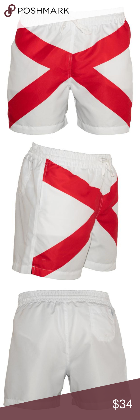 "MPEX 5.5"" Inseam Alabama Men's Swimming Trunks MPEX 5.5"