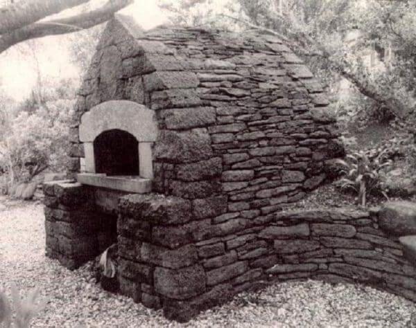 Outdoor Stone Oven Alan Scott Oven   Bread Oven In California