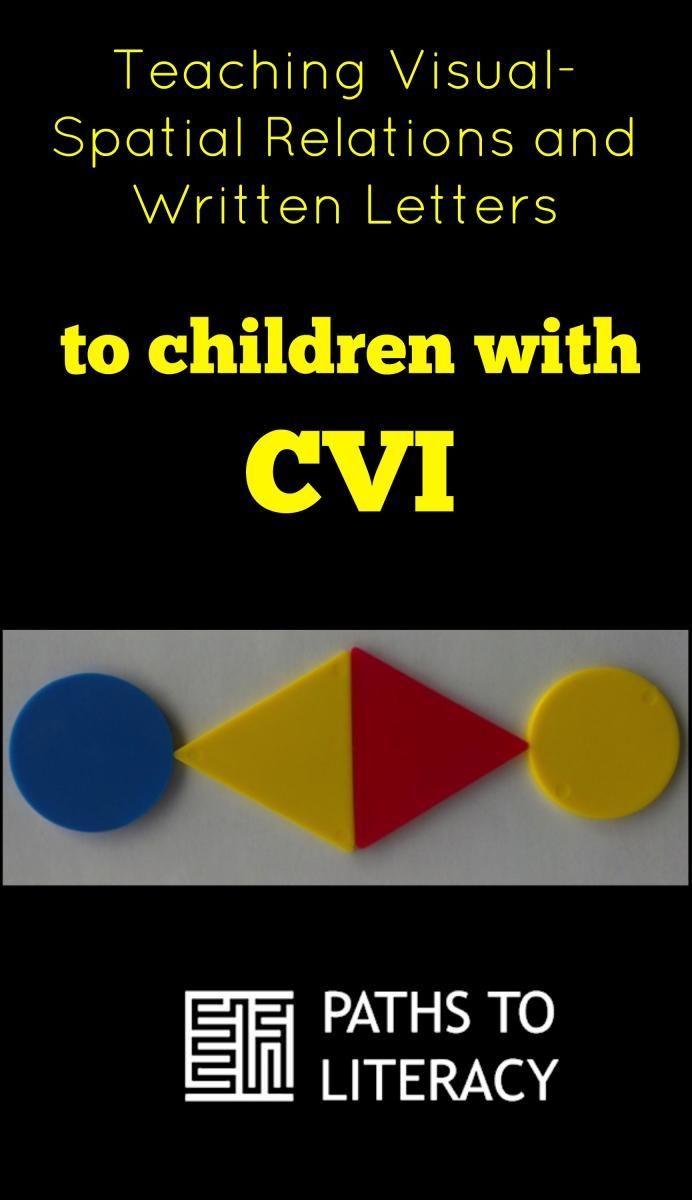 Cvi In Practice Teaching Visual Spatial Skills Using Attribute Blocks Cvi Cortical Visual Impairment Teaching [ 1200 x 692 Pixel ]