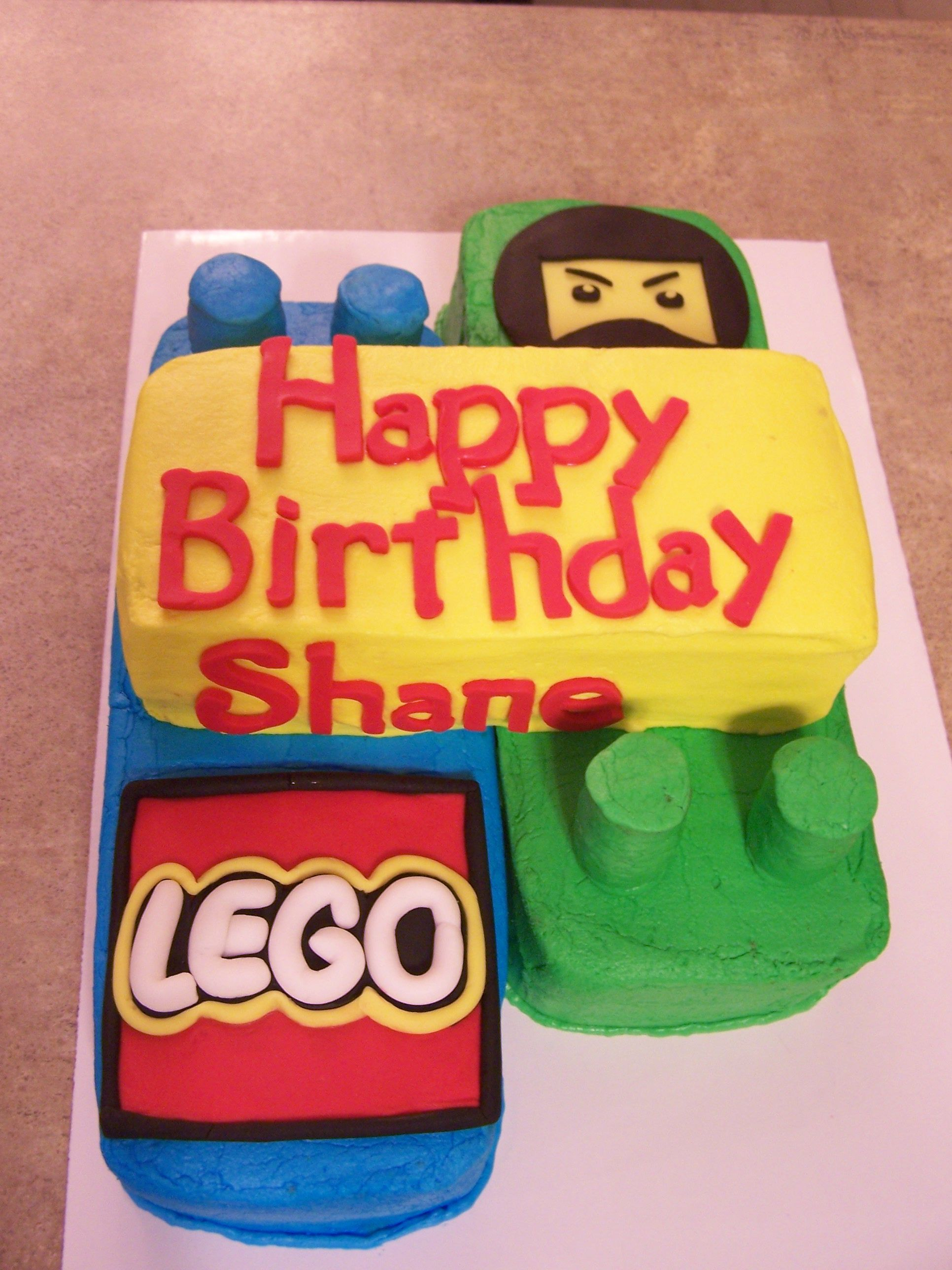 Lego Ninjago Birthday cake | Diannes Custom Cakes | Cake