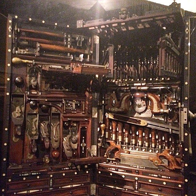 The H.O. Studley Tool Cabinet | Studley tool chest | Pinterest ...