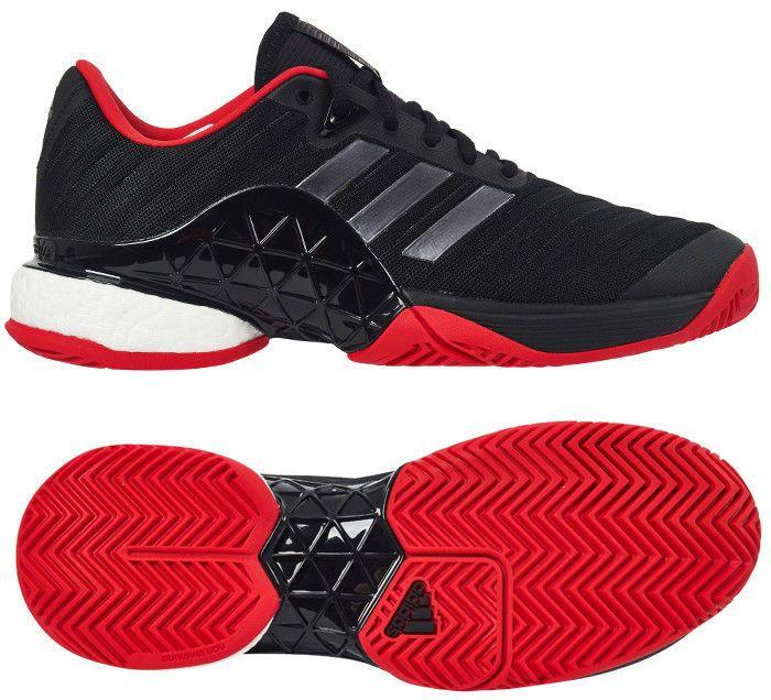 100% authentic 923e2 d260e adidas Barricade 2018 LTD Mens Tennis Shoes Racquet Miami Open Black NWT  CM7829 adidas
