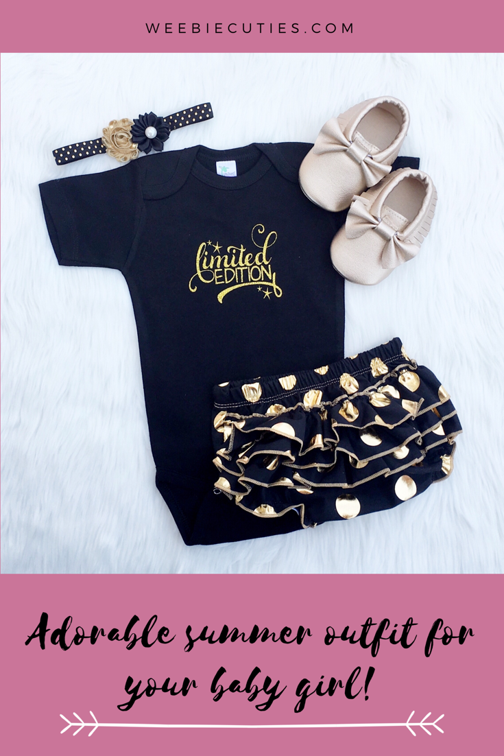 f34a249aa2210 Adorable Limited Edition baby girl clothing set. | Weebie Cuties ...
