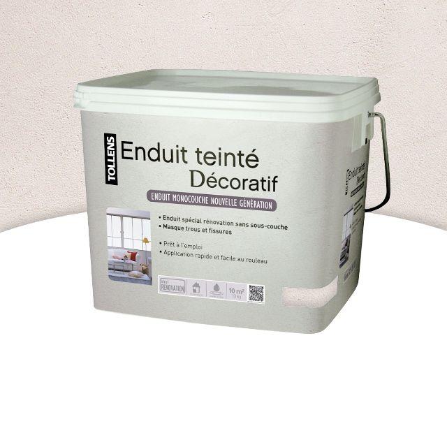 Enduit Teinté Ficelle 10 Kg Castorama Enduit Castorama