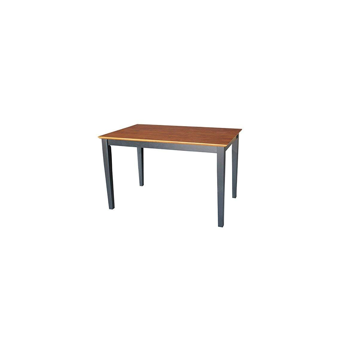 Astounding International Concepts Solid Wood Dining Table With Shaker Spiritservingveterans Wood Chair Design Ideas Spiritservingveteransorg