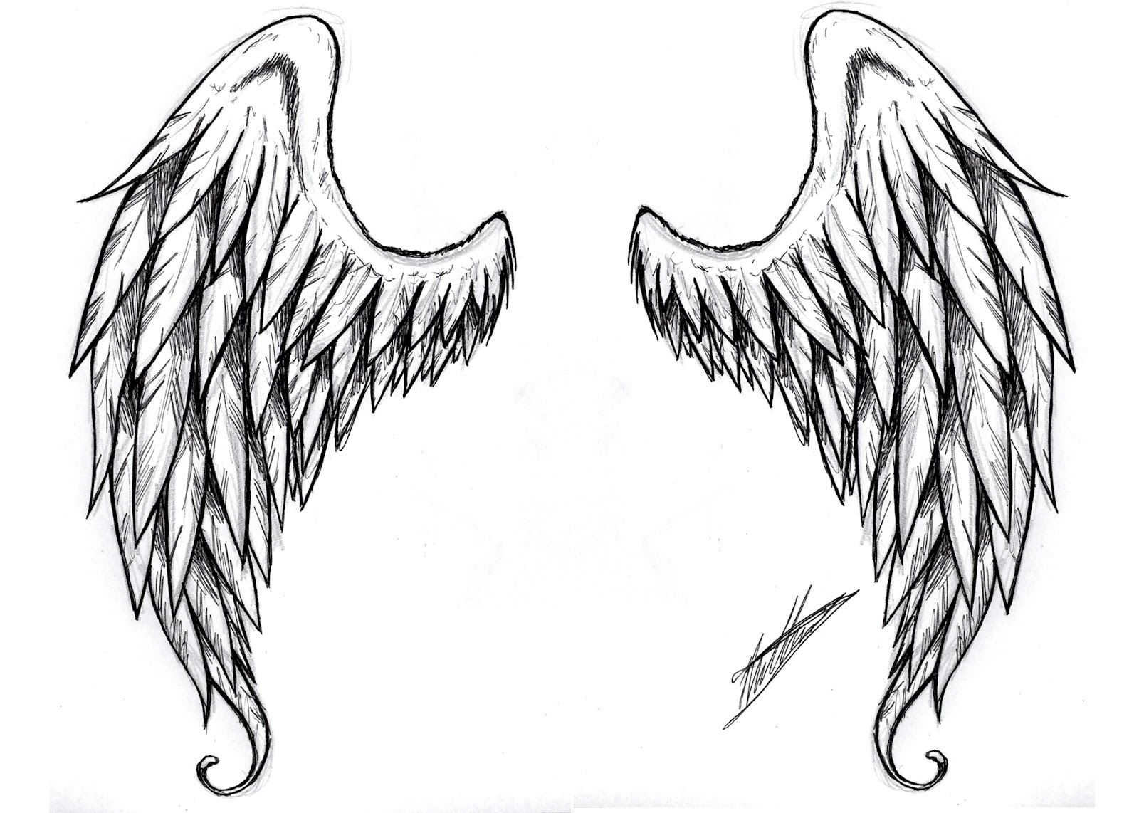 Angel Wing Tattoo Design Tattoos For Women And Men Tribal L A