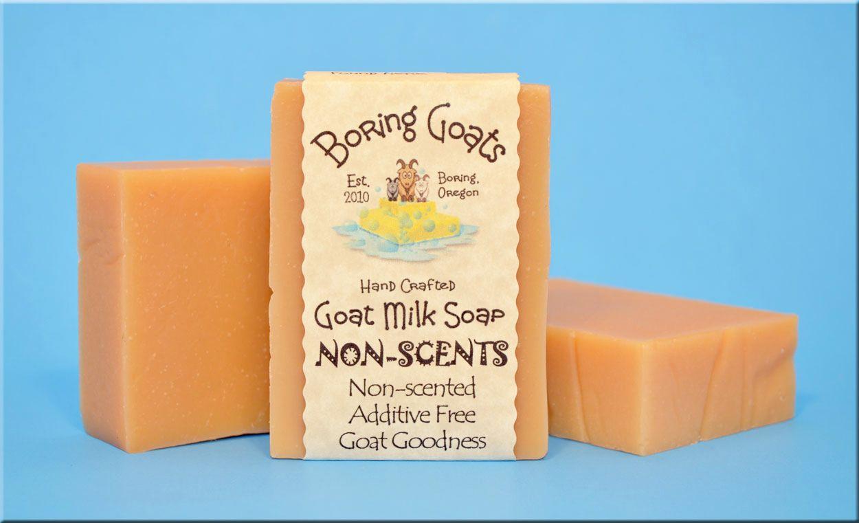 Boring Goats Goat Milk Soap Natural goat milk soap, Goat
