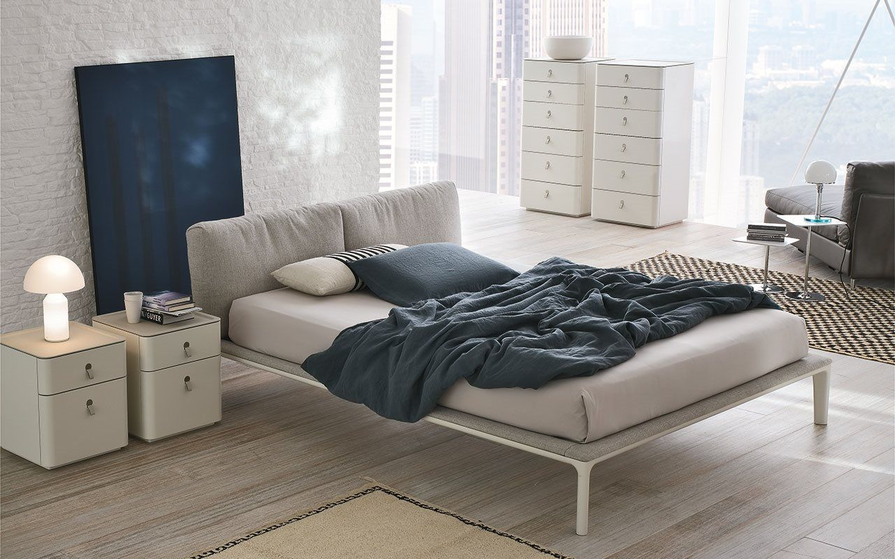The J Bed Offers Innovative Bedroom Design With Simplicity And Elegance Of Forms Comfy And Practic Modern Bedroom Furniture Contemporary Bed Bedroom Furniture