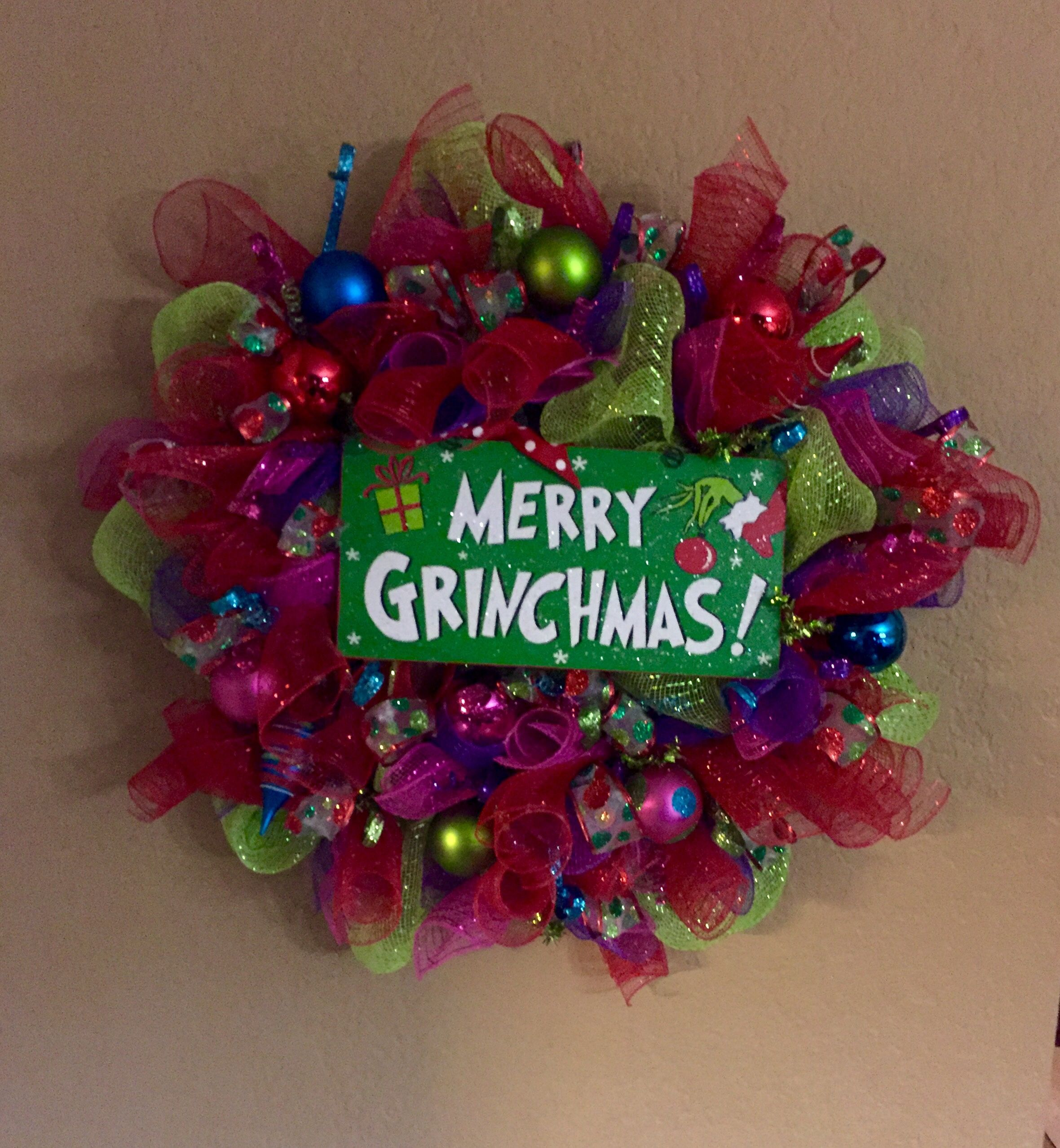 Merry Grinchmas!! Love this one! So very colorful!