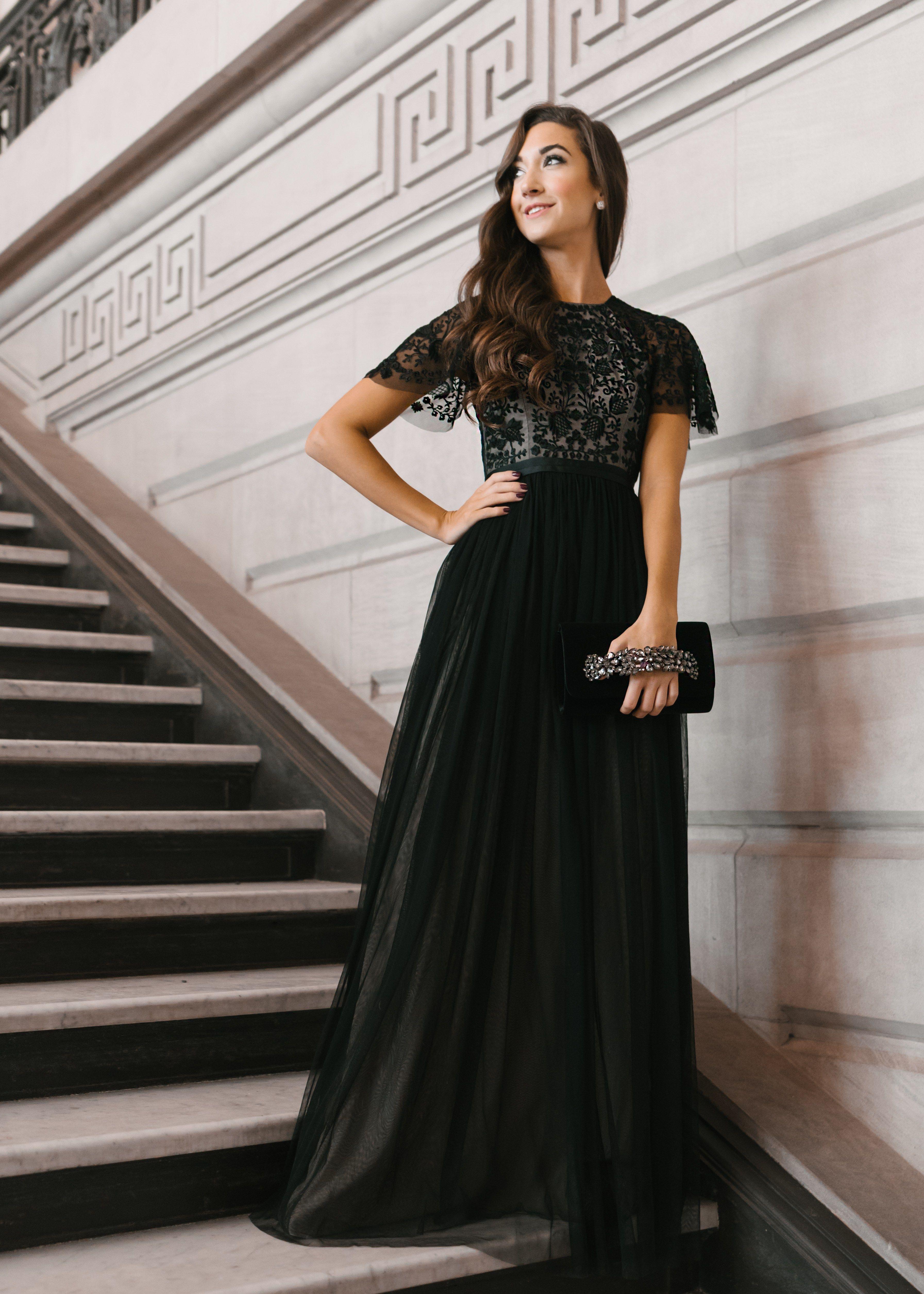 What To Wear To A Black Tie Wedding Melissa Frusco Black Tie Wedding Guest Dress Black Tie Wedding Attire Black Tie Attire [ 5020 x 3586 Pixel ]
