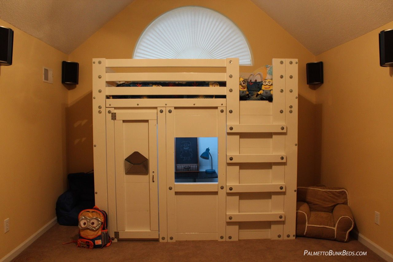 Minion Themed Bed Fort Bedroom Easy To Follow DIY Loft