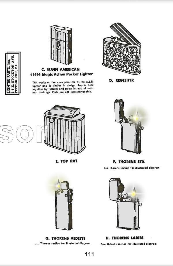 Pin on fire lighter