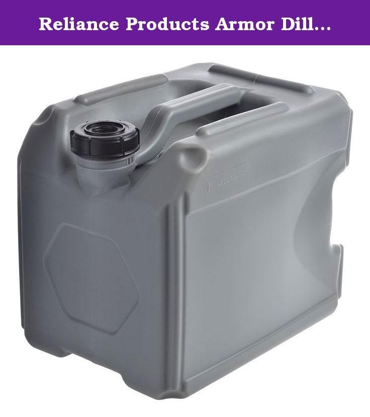Reliance Products Armor Dillo 4 Gallon Heavy Duty Water Container The Armor Dillo Heavy Duty Waterproof Container Will Water Containers Gallon Of Water Armor