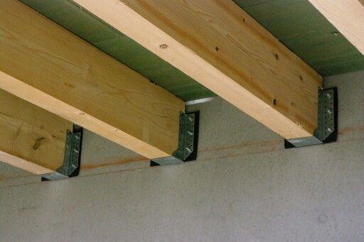solive sur sabot et bande epdm charpente vivanbois. Black Bedroom Furniture Sets. Home Design Ideas