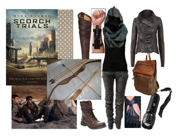 Scorch Trials | Rick owens Polyvore fashion and Steve madden