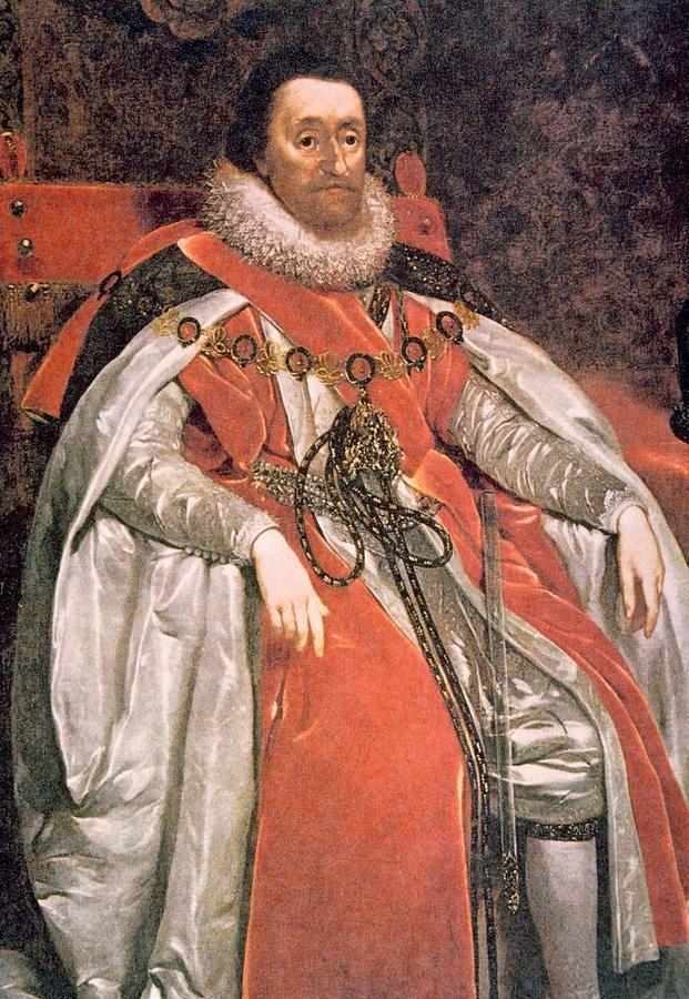 John De Critz Portrait of King James VI of Scotland, James