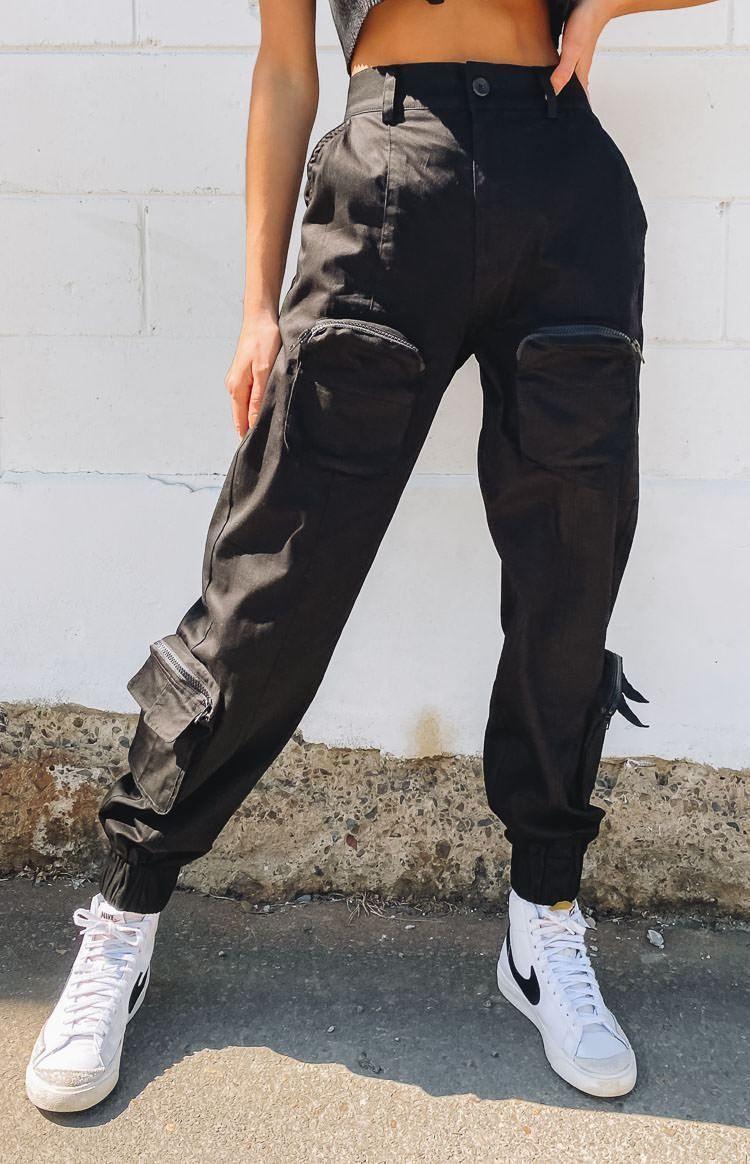 Nana Judy Aston Cargo Pants Black - XL