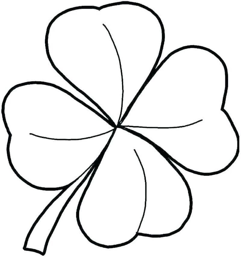 Complete Shamrock Coloring Pages To Print Free Coloring Sheets Shamrock Pictures Coloring Pages Shamrock Template