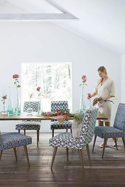 Astonishing Ikat Zolna Chair Pieces Of A Beautiful Home Upholstered Inzonedesignstudio Interior Chair Design Inzonedesignstudiocom