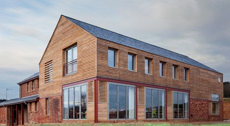 Timber Frame House in Leighton Buzzard: A-Zero | Home for a Holiday ...