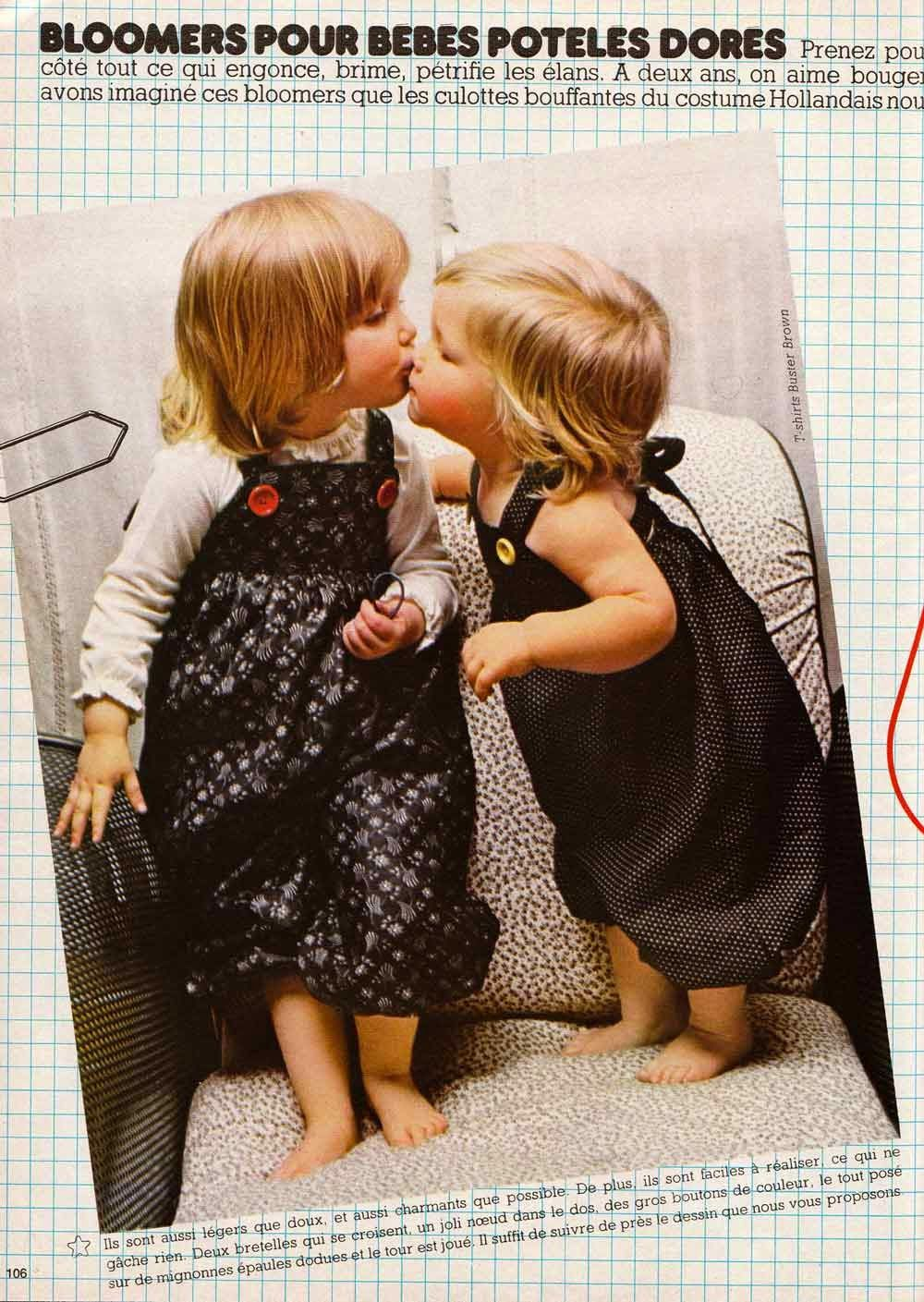 Bloomers b b 100 id es magazine patron gratuit 100 for Malette couture pour fille