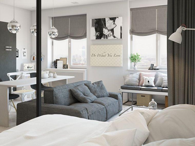 Apartamentos dise os para espacios peque os funcionales for Diseno de interiores para espacios pequenos
