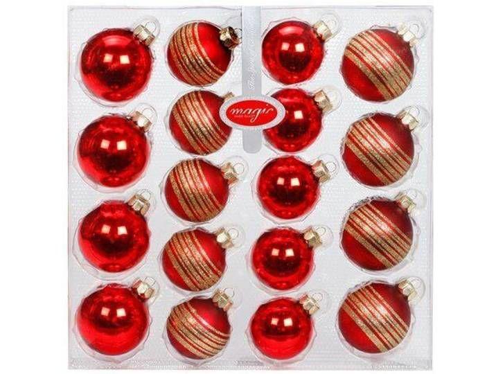 Weihnachtsbaumkugel-Set #weihnachtsdekoimglasmitkugeln