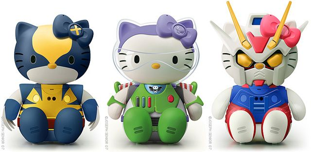 Hello Kitty Boy Toy -Check out more Cool Boys Toys & Gadgets