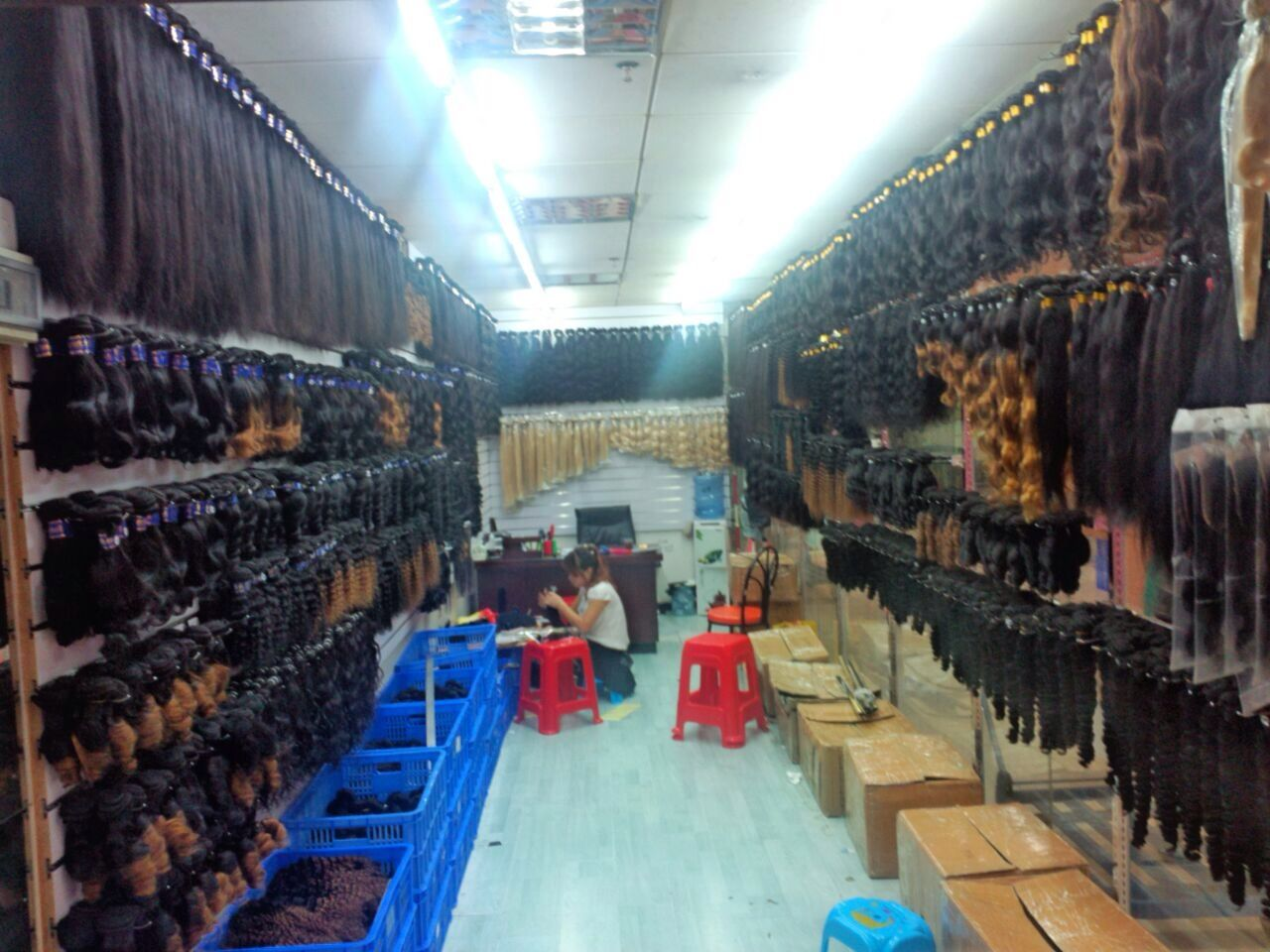 Our Trading House We Produce All Different Types Of Human Hair