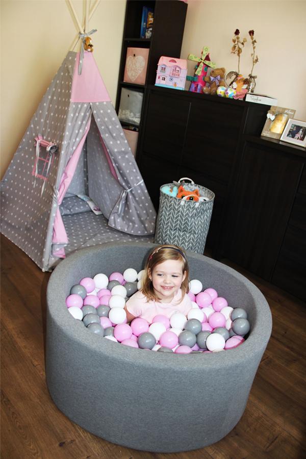 Suchy Basen Z Pileczkami Pilkami Kulkami 300szt 8049320013 Oficjalne Archiwum Allegro Toddler Bed Bed Toddler