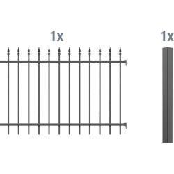 Metallzäune (mit Bildern) Zaun, Metallzaun, Dekorative