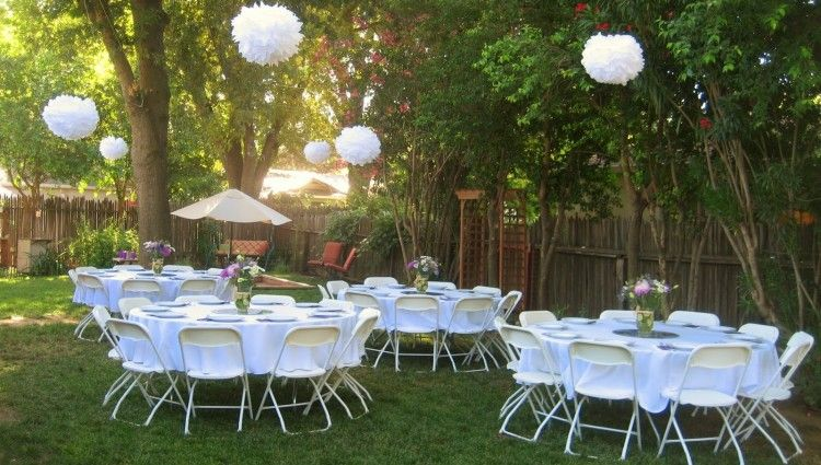 Wallpaper Small Backyard Wedding Reception Ideas Decoration