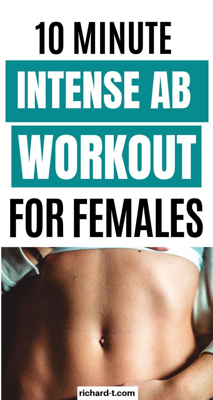 10 Minute ab workout perfect for women wanting flat, toned stomachs | Exercise And Fitness Tips | #e...