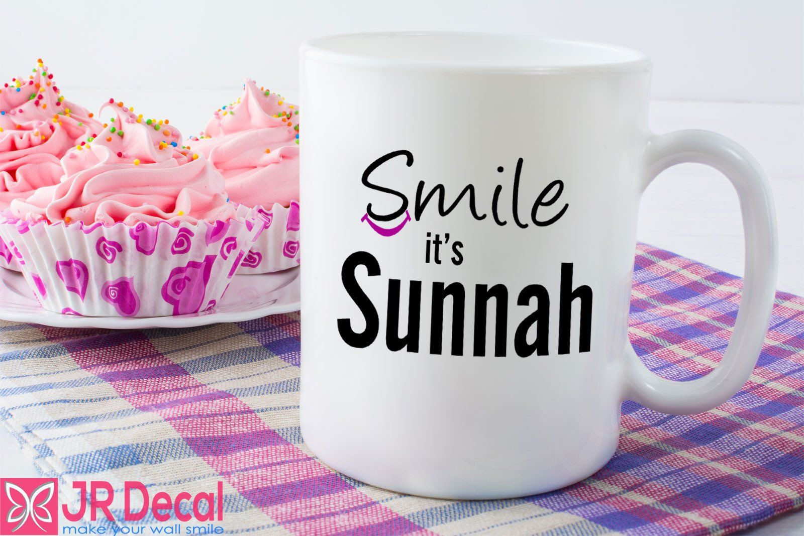 Smile it's Sunnah Printed Islamic Mug Eid Gift Mugs