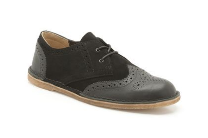 Mens Originals Shoes - Jink Brogue in Black Combi Leather from Clarks shoes